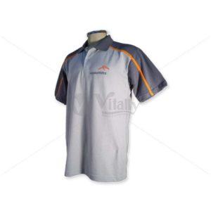 Camisa Polo Com Recorte