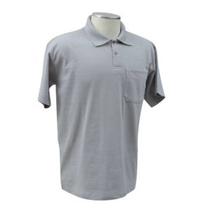 Camisa Polo Básica Com Bolso