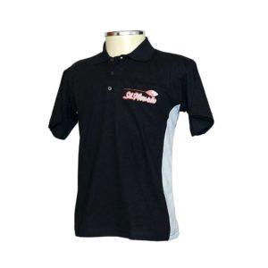 Camisa Polo Com Recorte  Lateral